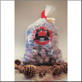 Color Pine Cones Assortment - Made In USA! (SKU: 101)