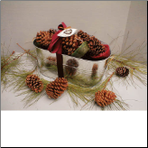 Pine Cone Firestarters Assortment -  Made In USA! (SKU: 102)