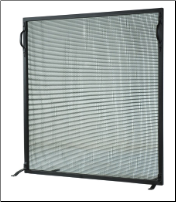Meyda Flat Simple Fireplace Screen