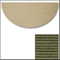 Sunset Natural Sisal Half Round Rug (SKU: 10892)
