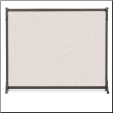Single Panel Craftsman Fireplace Screen (SKU: 1828-)