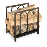 Iron Gate Log Holder  (SKU: 1853)