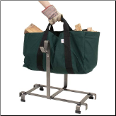 Log Rack With Log Carrier (SKU: EN-LR10)