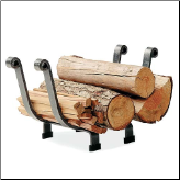 Fireplace Log Rack Basket (SKU: EN-LR9)