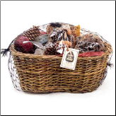 Medium Fire Starter Willow Basket Sampler (SKU: 10298)