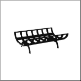 Cast Iron Fireplace Grate (SKU: 5VE-16-01)