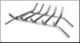Stainless Steel Fireplace Log Grate (SKU: C-77)