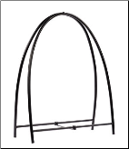 Arched Wood Holder (SKU: LH-0)