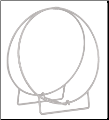 "36"" Diameter Log Hoop (SKU: W-)"