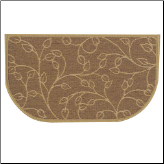 Textured Weave Leaf Large Rug (SKU: 19615)
