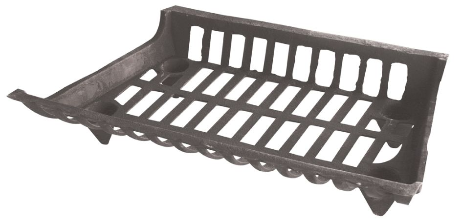 fireplace log grate at